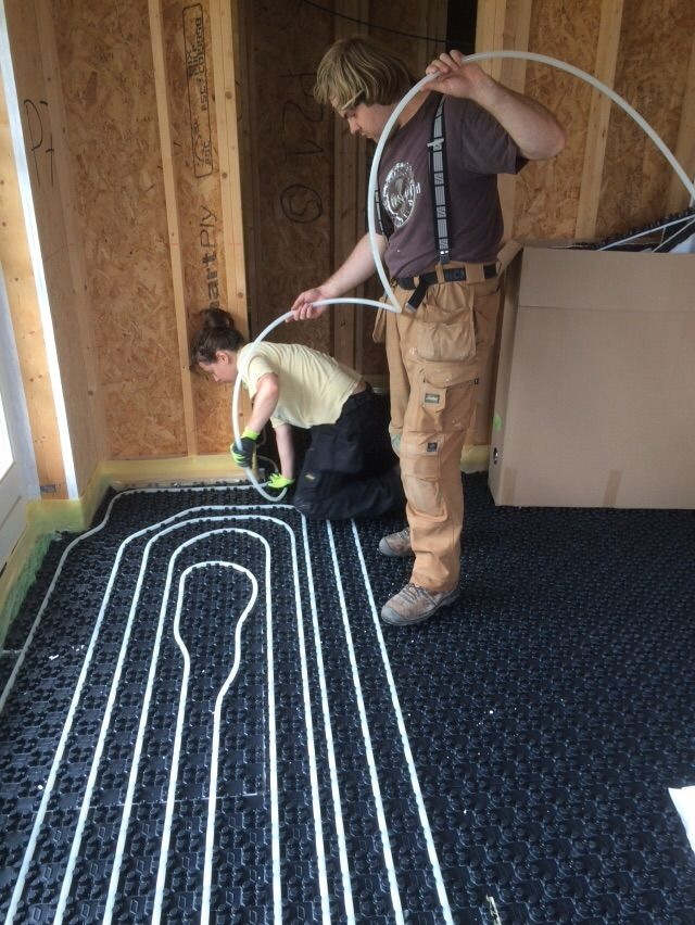 Heating Systems Hydronic Floor Heat