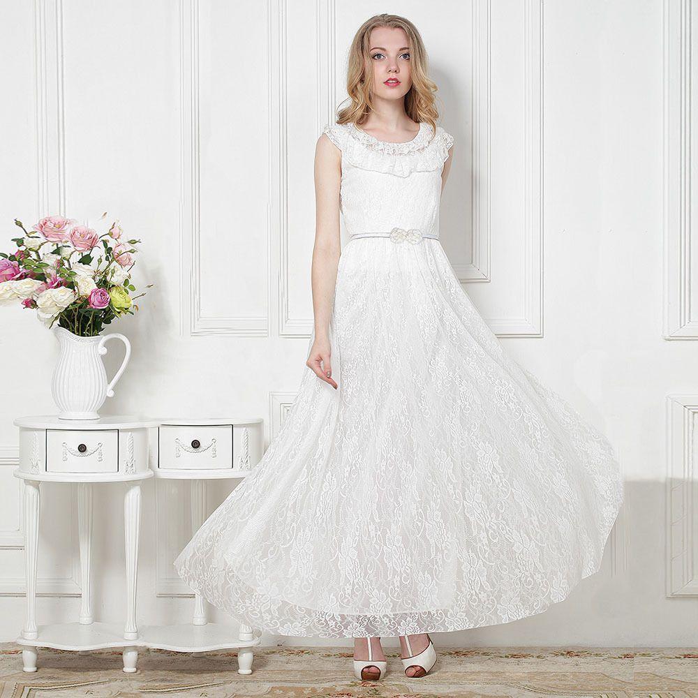 10++ Sleeveless casual wedding dresses ideas