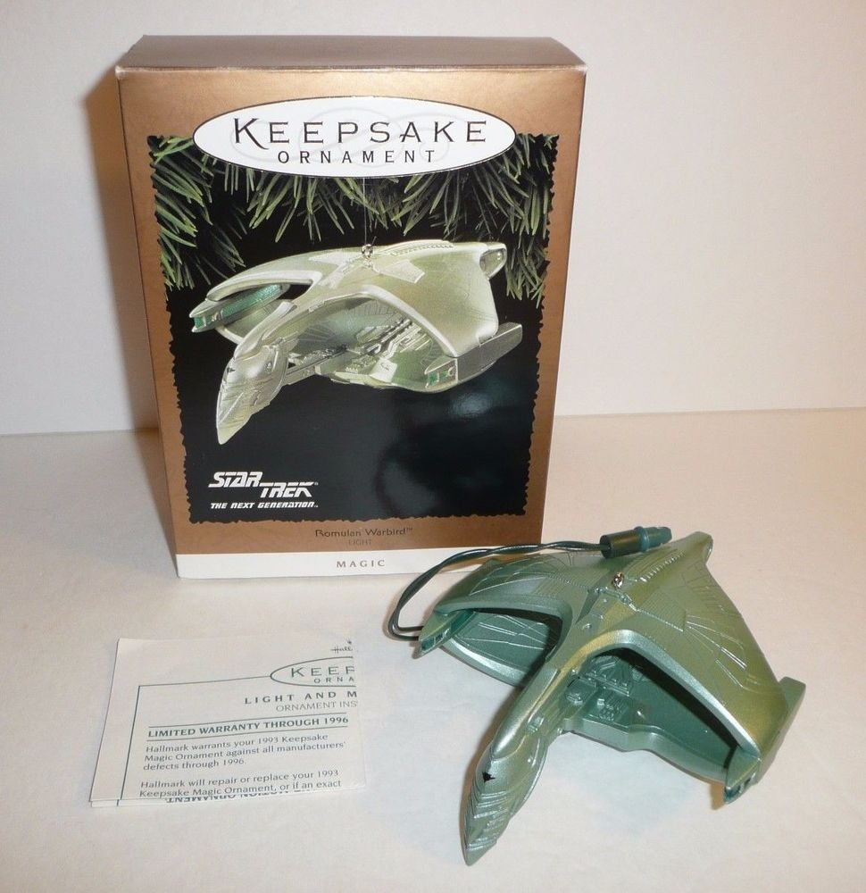 Romulan Warbird Star Trek The Next Generation Hallmark