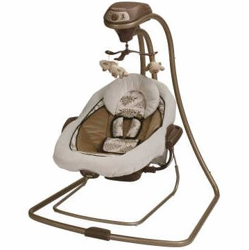 Graco Baby Swing Bouncer Duet Connect Farrow Baby