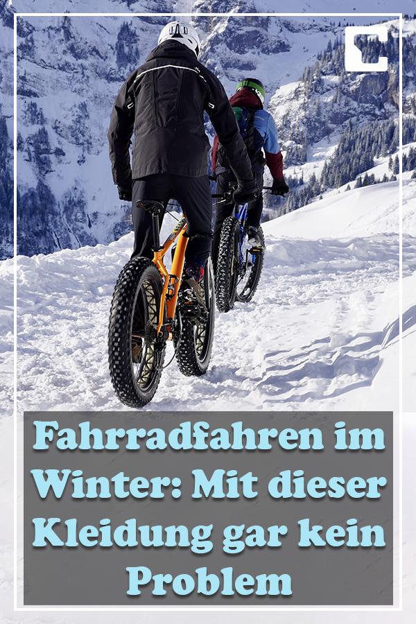 Fahrradfahren Im Winter So Schaffen Sie Das Fahrrad Fahren