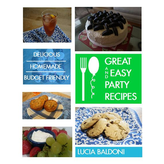 Great easy party recipes downloadable recipe book with food great easy party recipes downloadable recipe book with forumfinder Image collections
