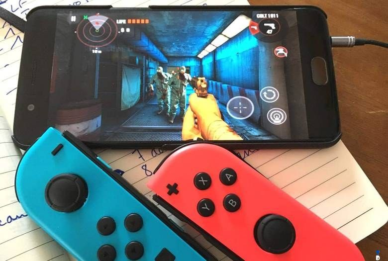 How To Play Android Games With Joy Con Controller Of The Nintendo Switch Android Android Games Games
