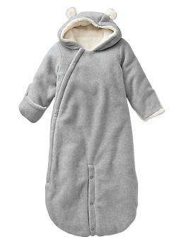52a1c1878 Bear fleece convertible bundler | Gap | baby boy | Baby gap, Buy buy ...