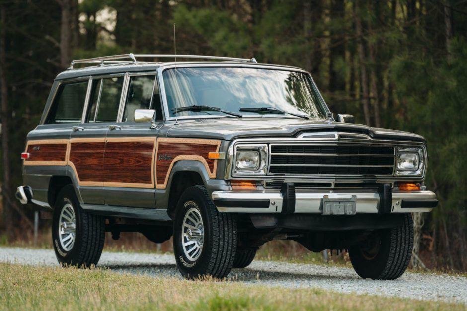 Ls Powered 1990 Jeep Grand Wagoneer In 2020 Jeep Grand Jeep Vintage Trailers Restoration