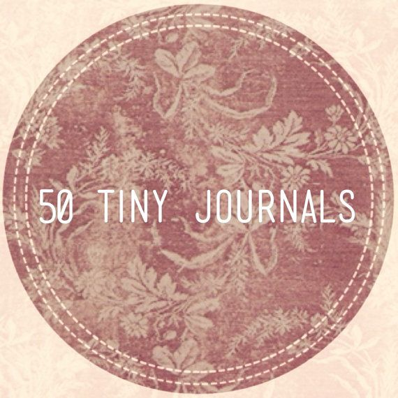 Wedding Favors 50 Tiny Journals Unique Party by ordinaryartists, $44.00