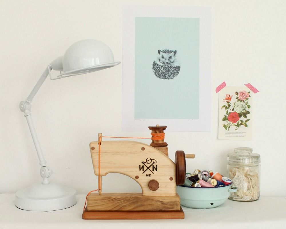 These Beautiful Sewing Machines Are Handcrafted In New
