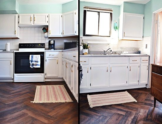 This renter\'s $100 kitchen makeover is going viral | Home | Pinterest