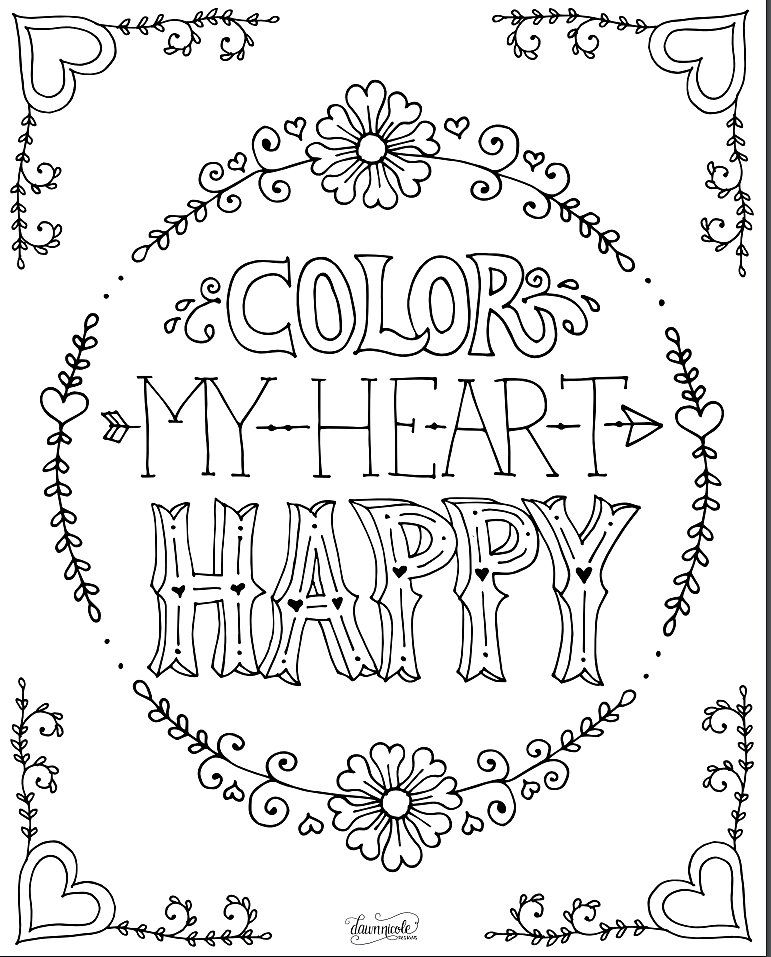 20 Free Coloring Book Printables | Free coloring, Adult coloring and ...