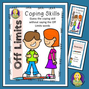 Off Limits Coping Skills Game Coping Skills Coping Skills Activities Social Skills Games