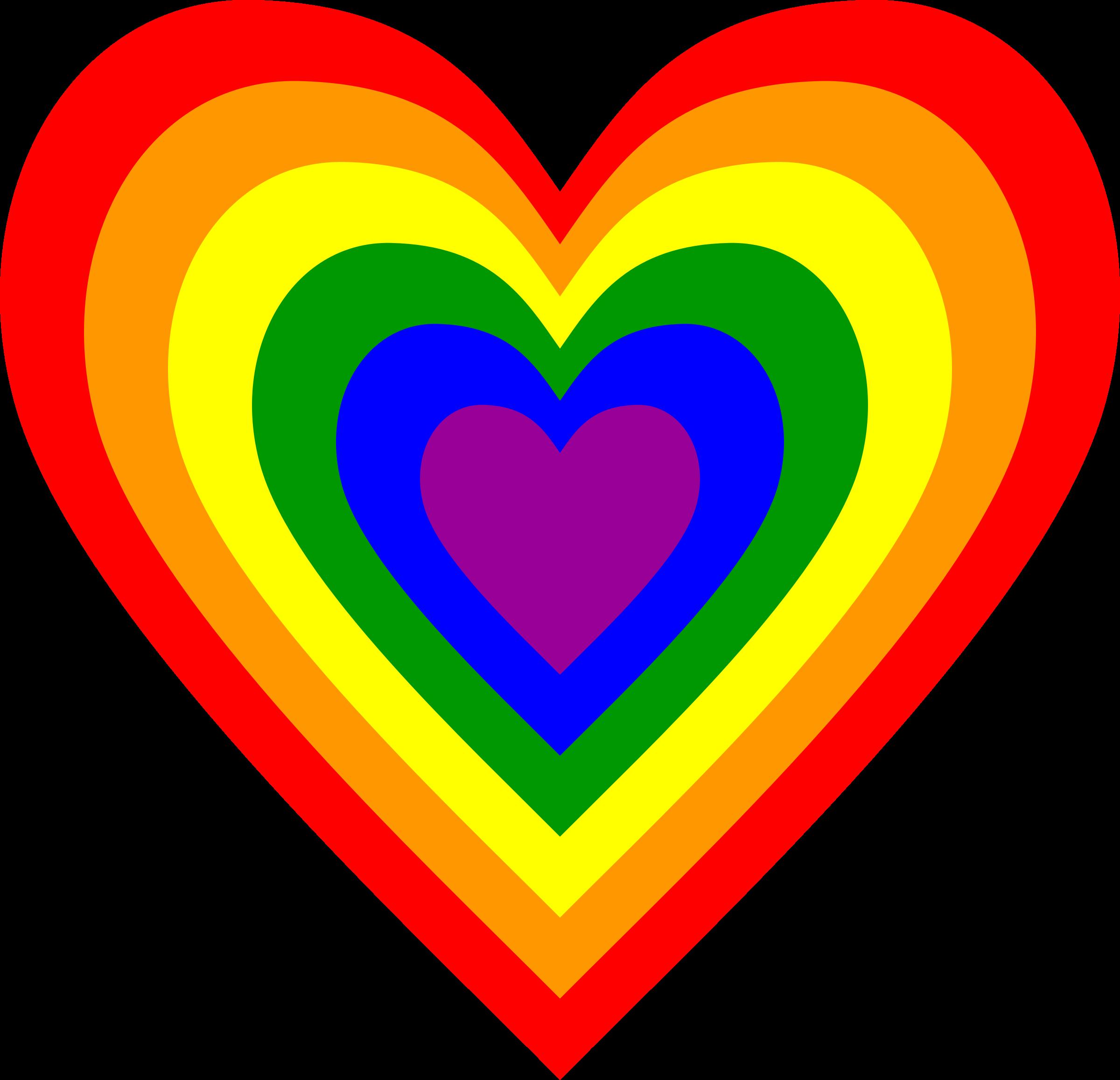 Rainbow Heart Gem Heart Sticker Zazzle Com Rainbow Heart Heart Stickers Blue Butterfly Wallpaper