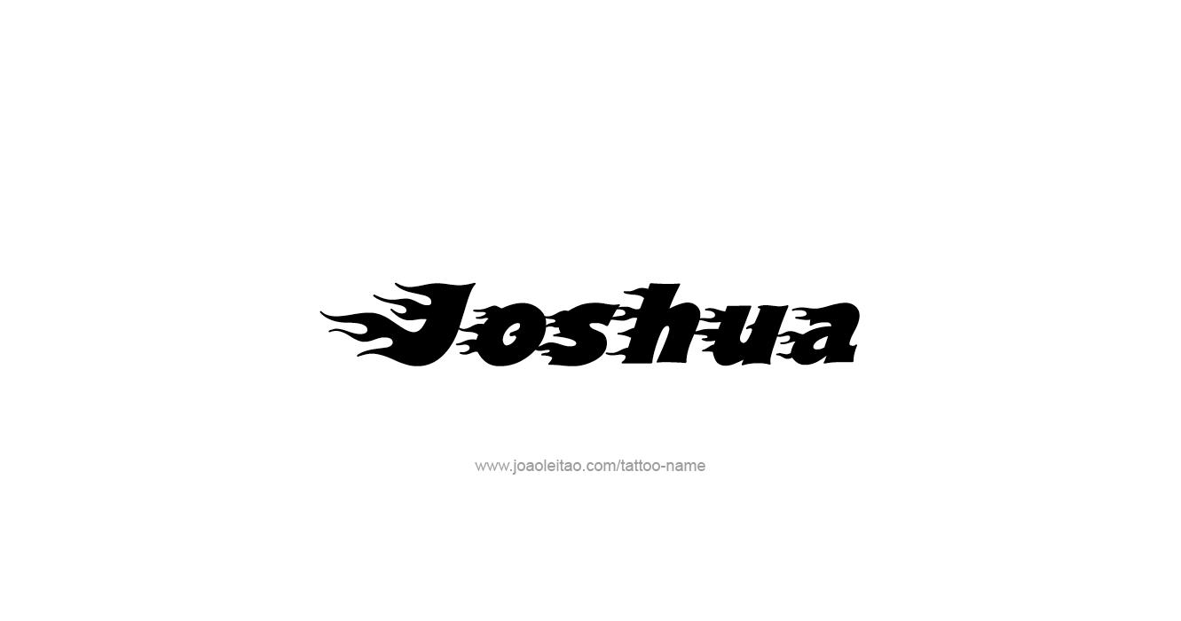 Tattoo Design Prophet Name Joshua 23 Png 1331 700 Name Tattoos Names Tattoos