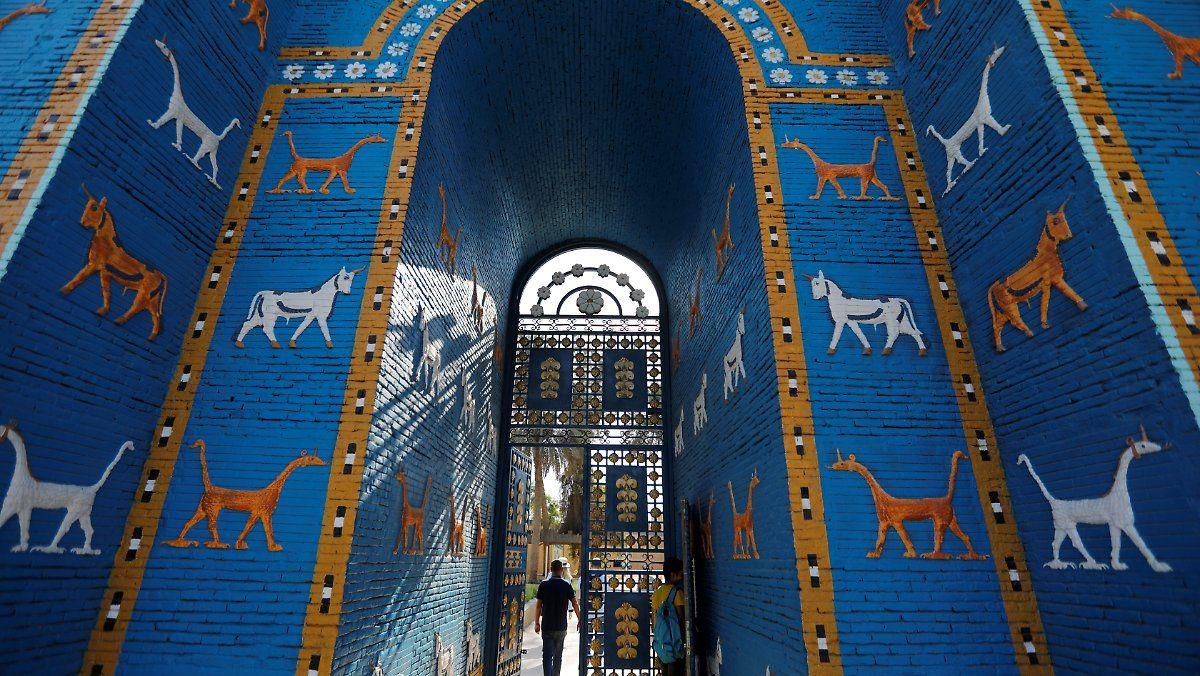 Nach 30 Jahren Endlich Auf Liste Babylon Das Geheimnisvolle Unesco Weltkulturerbe Turmbau Zu Babel Bilder Geheimnisvoll