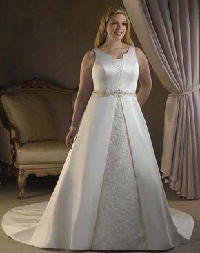 Melhores vestidos de noiva para gordas  1c97454716e