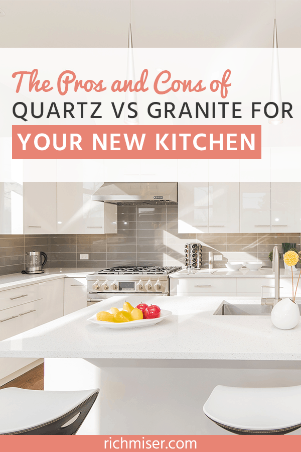 What You Need To Know On Quartz Granite Countertops Replacing Kitchen Countertops Kitchen Countertops Diy Kitchen Countertops