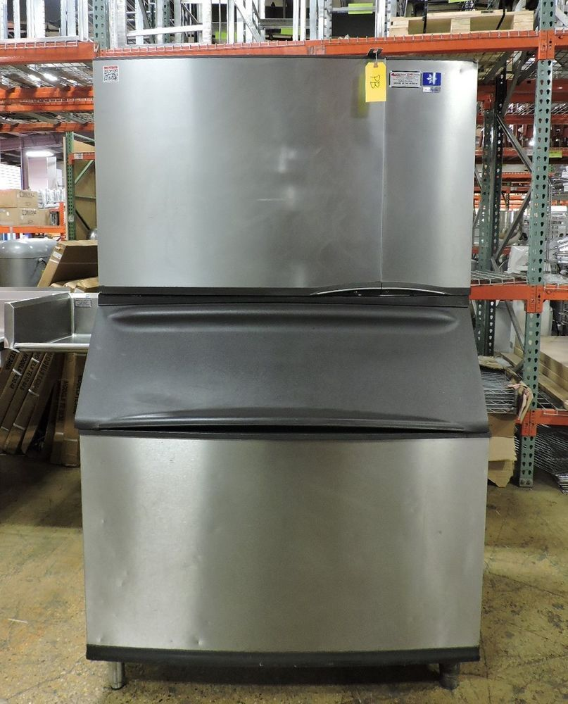 Manitowoc Sy1805w B970 Water Cooled 1 2 Cube Ice Machine Storage Bin Machine Storage Storage Bin Manitowoc