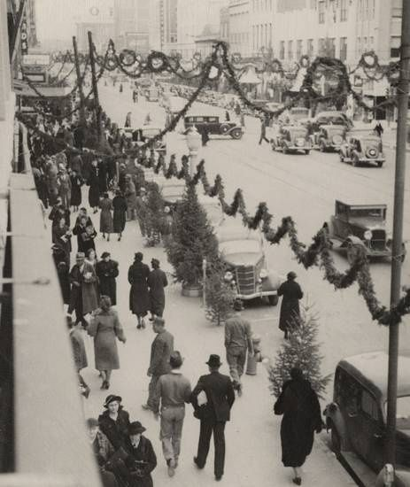 Pin by Novel Disclosure on Vintage Christmas Stores and Displays ...
