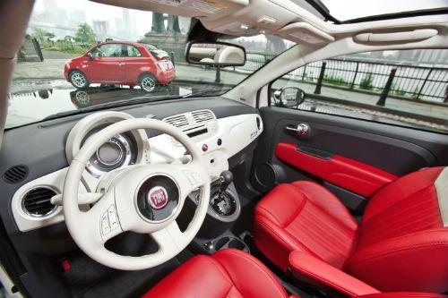 2015 Fiat 500 Abarth Automatic Cabrio Black Cabrio Fiat 500