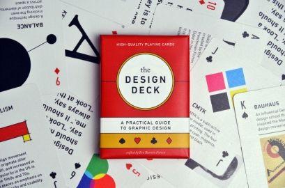 The Design Deck By The Design Deck On The Bazaar Karten Design Designgeschichte Grafik Design