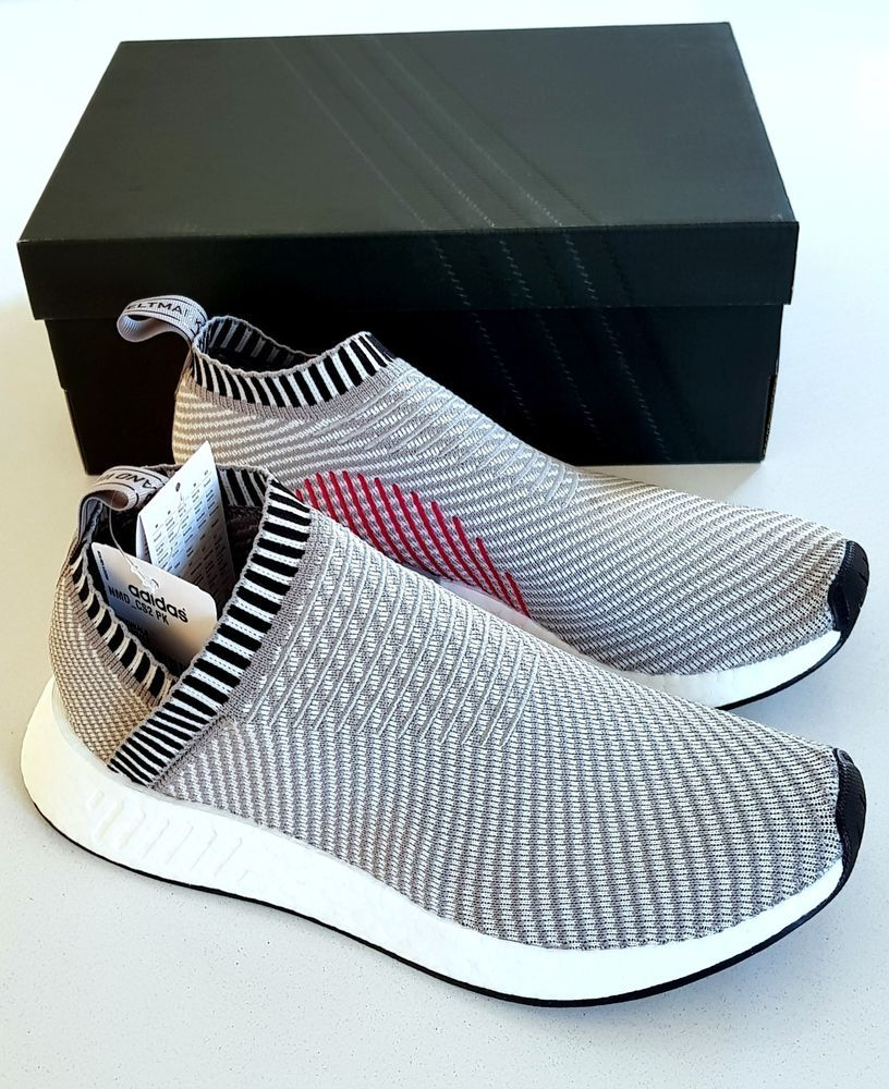 42cb2099f ADIDAS NMD CS2 PK PRIMEKNIT CITY SOCK BOOST TRAINERS SNEAKER 100% GENUINE  UK 8  adidas  Trainers