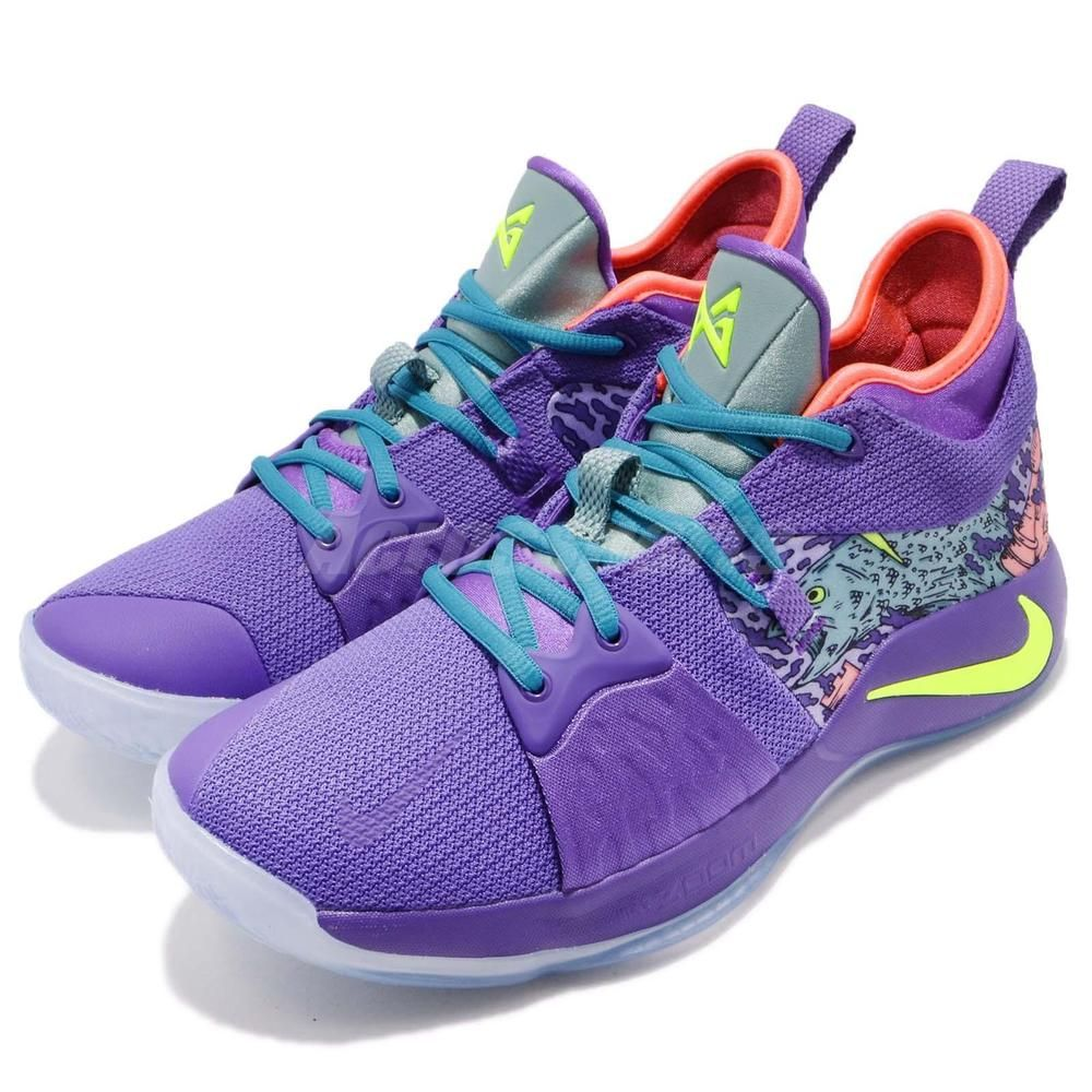 e264d33e73c2 Nike PG 2 Mamba Mentality Mens AO2986-001 Purple Basketball Shoes Size 13  ASG MC