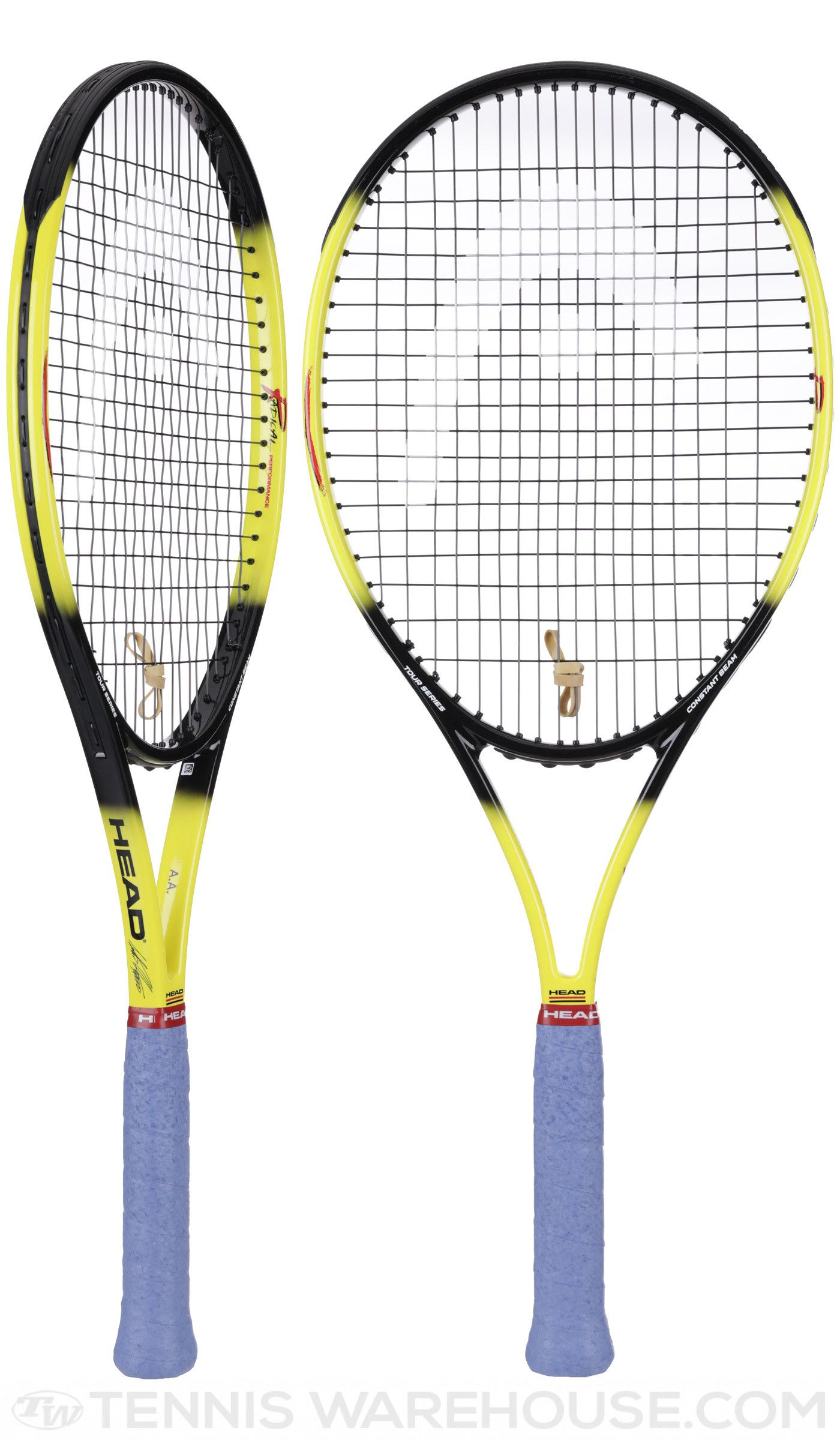 Andre Agassi S Endorsed Racket Returns To The Shelves Get Your Head Radical Oversize Ltd Racquet Headtennis Agassi