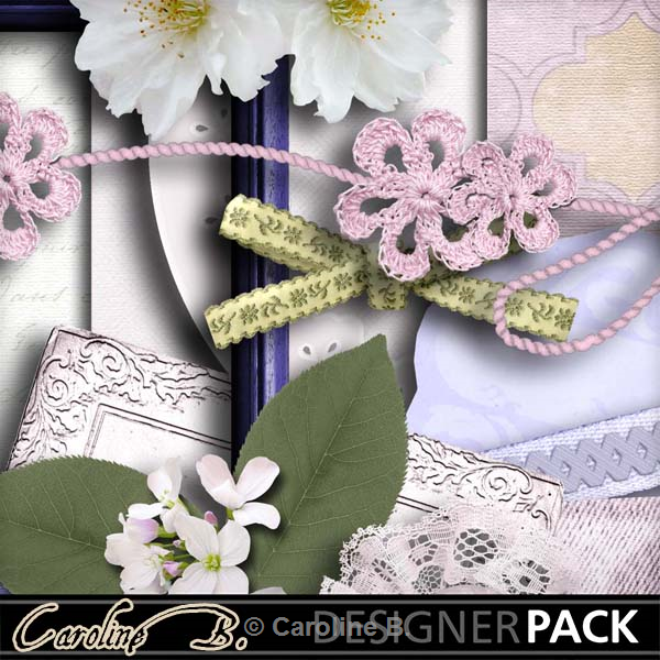 Flower And Lace Wedding Kit 1  http://www.mymemories.com/store/display_product_page?id=CBDS-CP-1405-59272r=carolineb