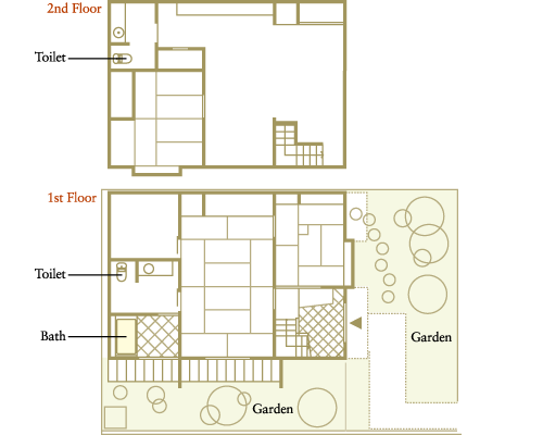 Sanbo Nishinotoin Cho Machiya Iori S Machiya List Iori Machiya Stay Traditional Japanese House Japanese House House Floor Plans