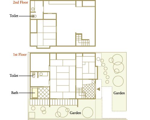 Sanbo Nishinotoin Cho Machiya Iori S Machiya List Iori Machiya Stay Traditional Japanese House Japanese House House Floor Plans