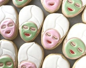 Spa cookies | Etsy