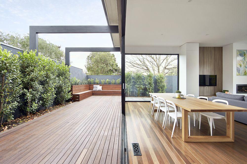 LSA Architects - East Malvern, Indoor outdoor Living