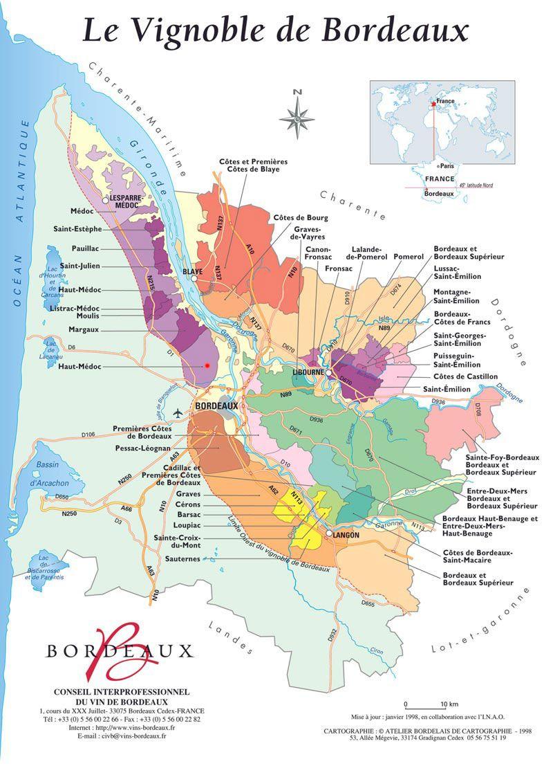 Carte Des Vins Bordeaux.Vendanges Vertes Bordeaux Wine Vin Bordeaux Carte Des