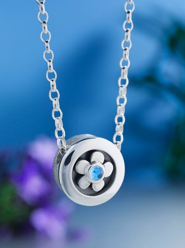 90d462c4f59ca5 'Forget Me Not' Pendant / Necklace from Alan Ardiff Jewellery Dublin  Ireland - The