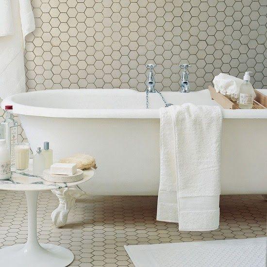 Winckelmans Fliesen winckelmans mosaic hexagon white tiles carrelage bathroom