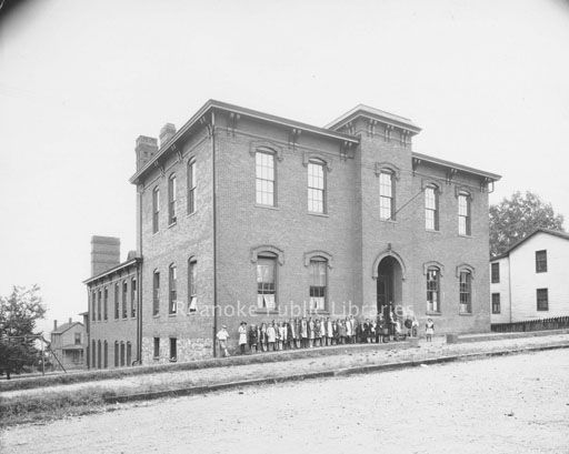 Gilmer School once stood on Gilmer Avenue in the general
