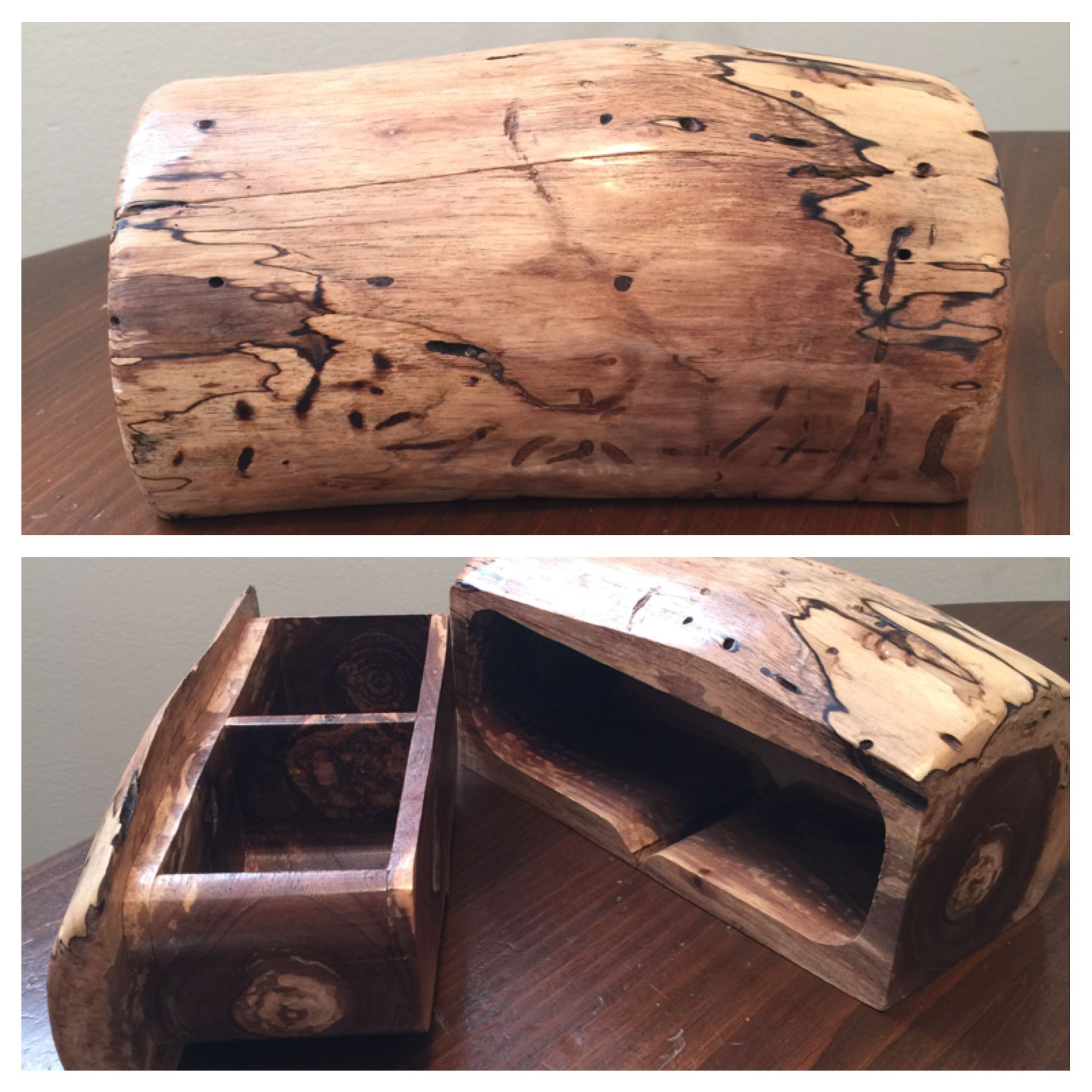 ***SOLD*** Black walnut log bandsaw box in 2020 | Bandsaw ...