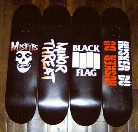 Hardcore skateboard company