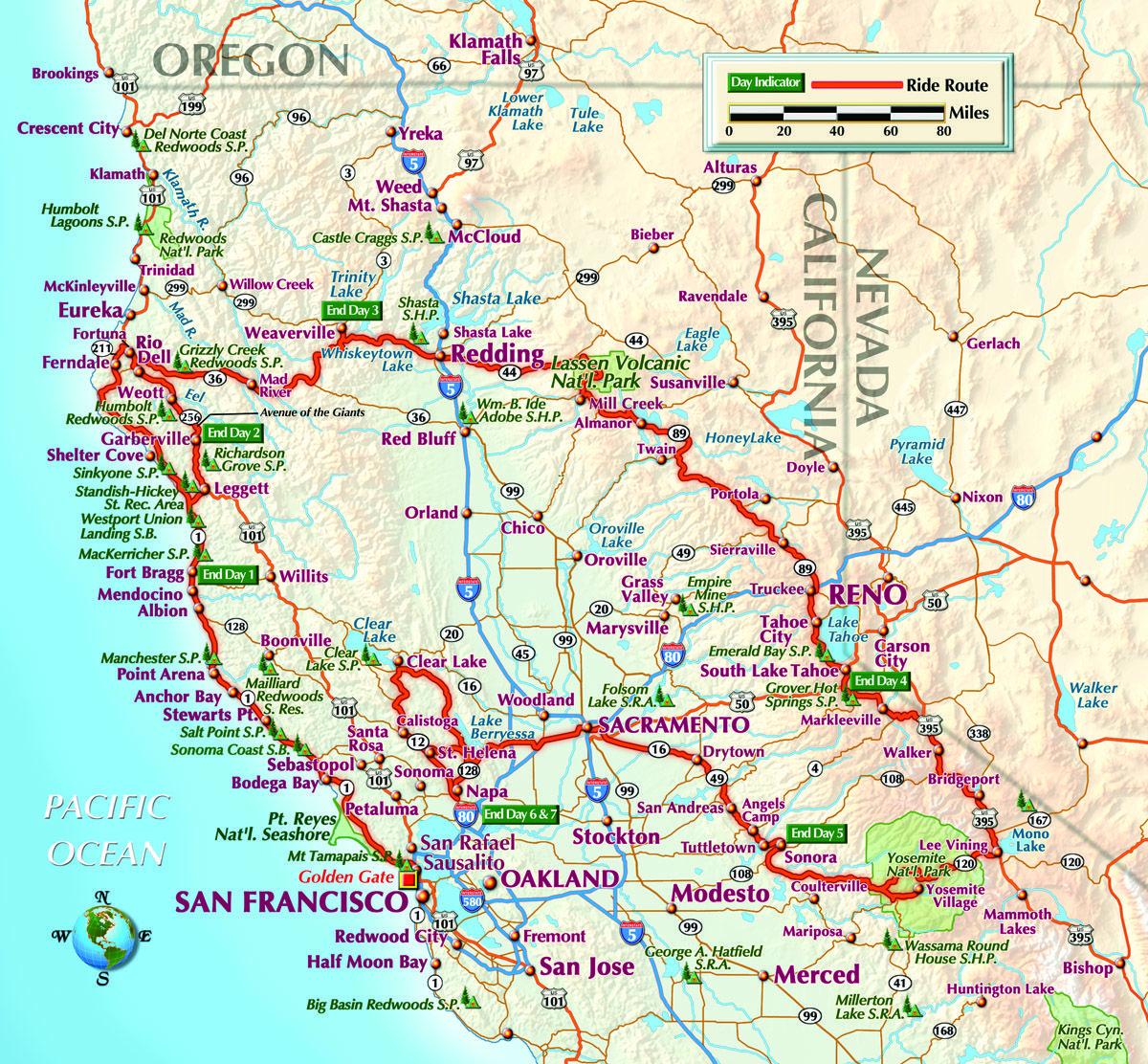 Road Map Of Northern Ca Pictures To Pin On Pinterest