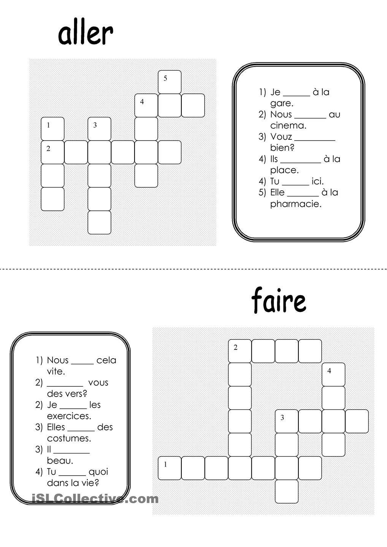 la conjugaison frances conjugaison conjugaison present et verbe aller. Black Bedroom Furniture Sets. Home Design Ideas