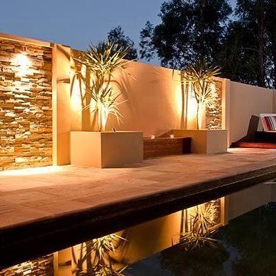 outdoors#terrace#organic#lights#terrazas#exterior#luces#night#noche ...