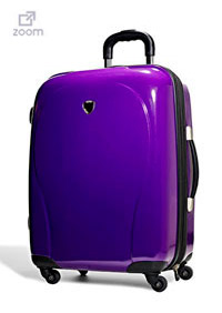 For summer travel, a hard side luggage is necessary. Check it out at Marshalls!