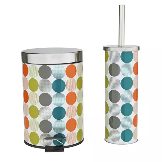 Results For Toilet Bin With Images Toilet Brush Bathroom Accessory Sets Argos Home