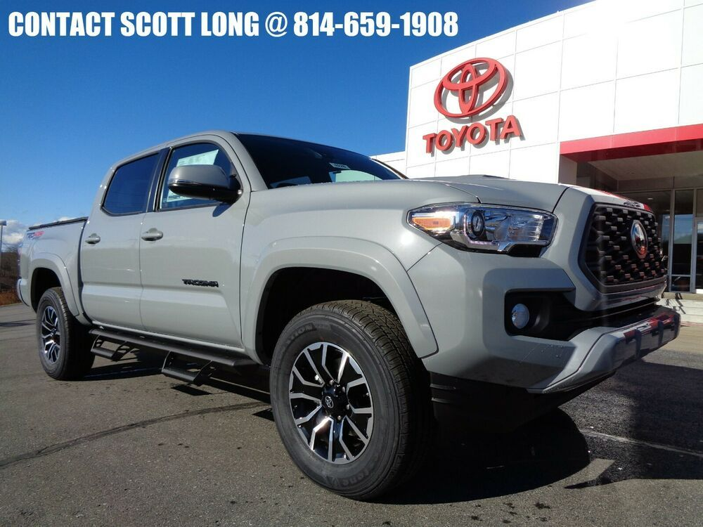 2020 Toyota Tacoma New 2020 Double Cab 4x4 3 5l 4wd Trd Sport New 2020 Tacoma Double Cab 4x4 Trd Sport Cement Preda In 2020 Toyota Tacoma Toyota Tacoma For Sale Toyota