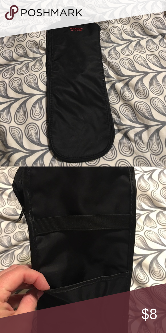 Flat Iron Thermal Bag Thermal bag for hot flat irons or curling irons when on the go! Revlon Bags Cosmetic Bags & Cases