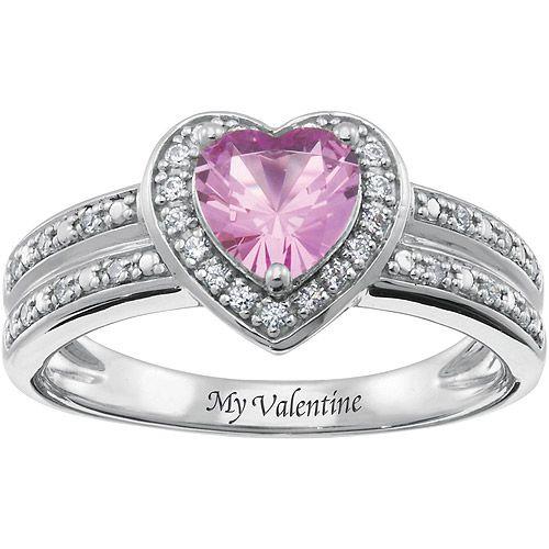 Schön Personalized Keepsake My Valentine Ring