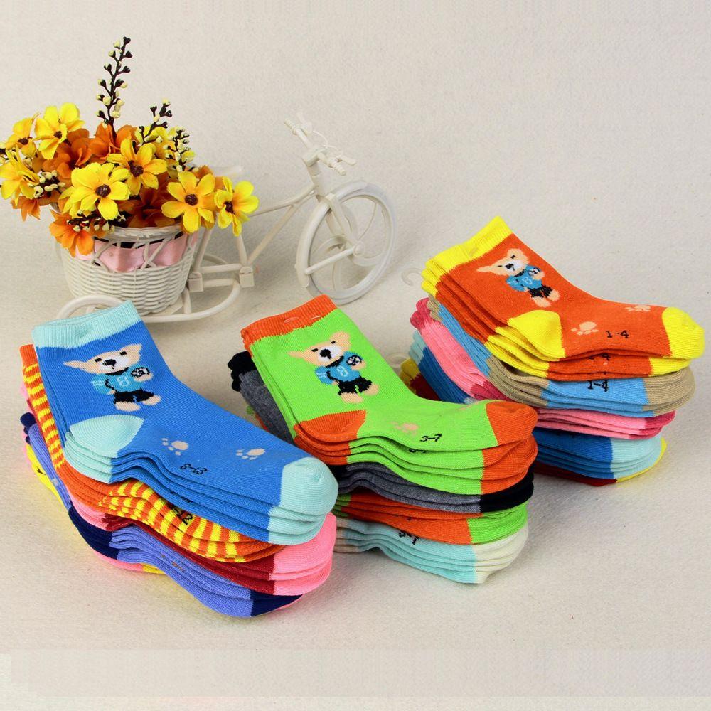 0-3 anni Unisex Del Bambino calzini Del pavimento calzino neonati calzini ragazze bambini Children cutu animale ratto coniglio orso modello calzini cotone