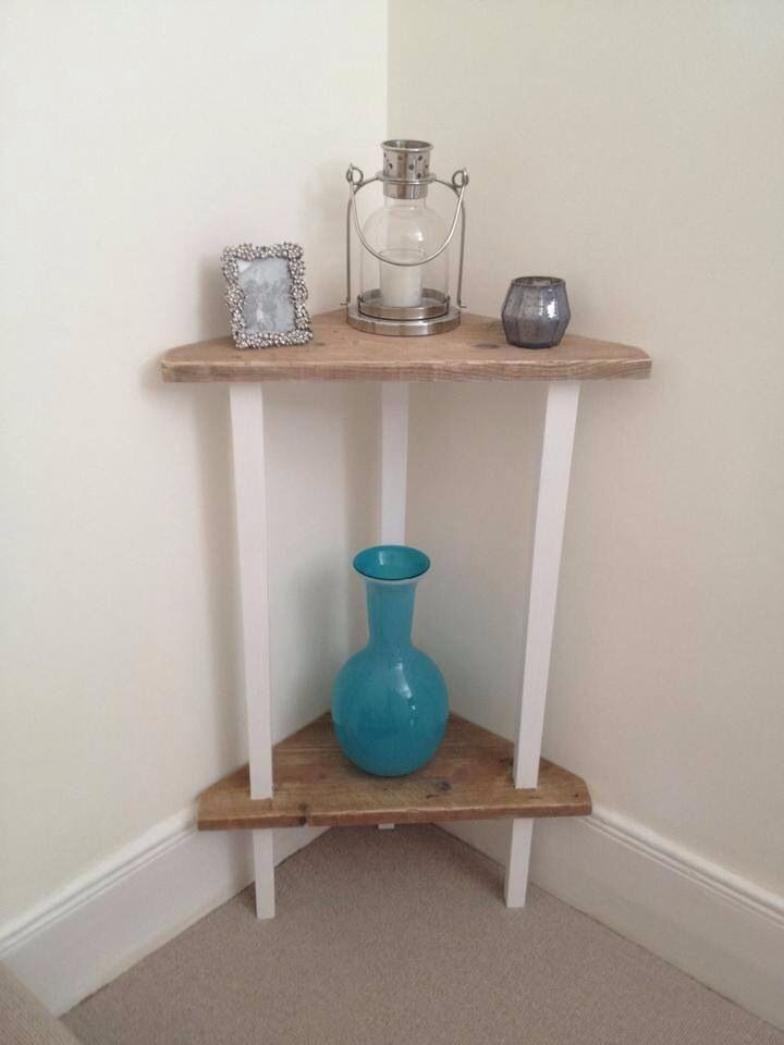 Small Corner Table Now Fully Used By Client Dove Tail Handmade