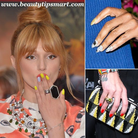 Creative And Stylish Celebrity Nail Art Trends Of 2017 - Creative And Stylish Celebrity Nail Art Trends Of 2017 Nails