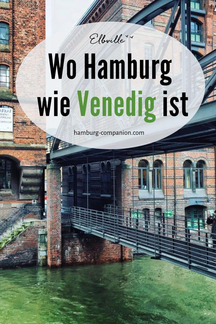 Wo Hamburg wie Venedig ist: Erfahrt, wo Ihr die schönsten Fleete, Kanäle und Brücken der Stadt findet! #Speicherstadt #Michaelisbrücke