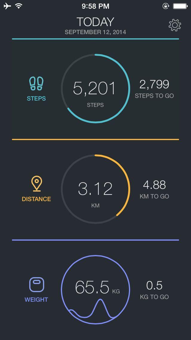 app shopper fitport daily activity health fitness tracker app